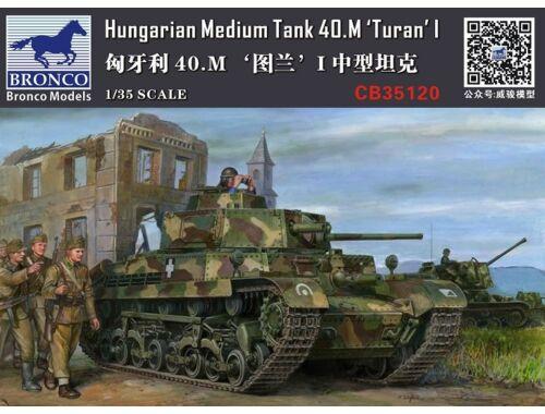 Bronco 40M Turan I Hungarian Medium Tank 1:35 (CB35120)