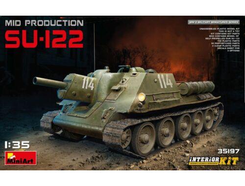 Miniart Russian SU-122 (Mid Production)w/Interior 1:35 (35197)