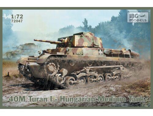 IBG 40M Turan I - Hungarian Medium Tank 1:72 (72047)