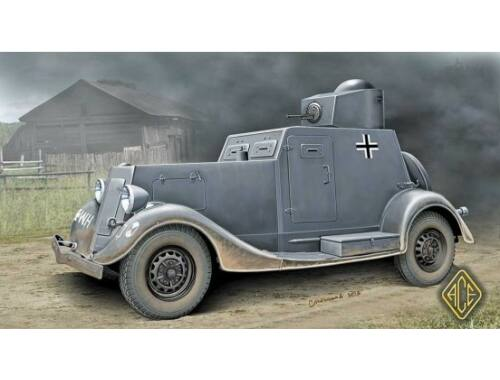ACE BA-20 light armored car, early prod. 1:48 (48108)