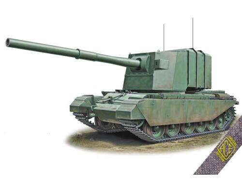 ACE FV-4005 183mm on Centurion hull 1:72 (ACE72429)