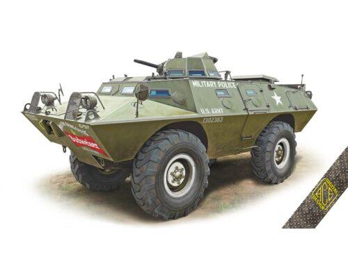 ACE XM-706 E1 Commando Armored Car 1:72 (ACE72431)