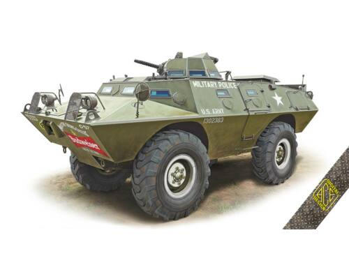 ACE XM-706 E1 Commando Armored Car 1:72 (72431)