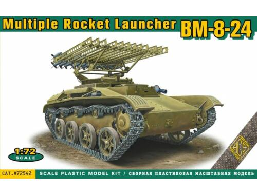 ACE BM-8-24 multiple rocket launcher 1:72 (72542)