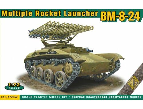 ACE BM-8-24 multiple rocket launcher 1:72 (72542)
