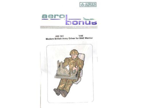 Aerobonus Modern British Army Driver f.BAE Warrior 1:48 (480161)