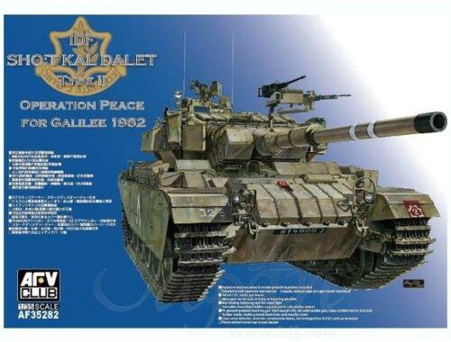 AFV Club IDF Sho't Kal Dalet Type II(Op. Peace for Galilee 1982) 1:35 (AF35282)