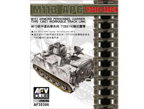 AFV Club M113 APC T130E1 Workable Track Link 1:35 (AF35306)
