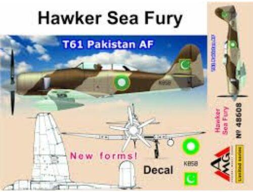 AMG Hawker Sea Fury T61 Pakistan AF 1:48 (AMG48608)