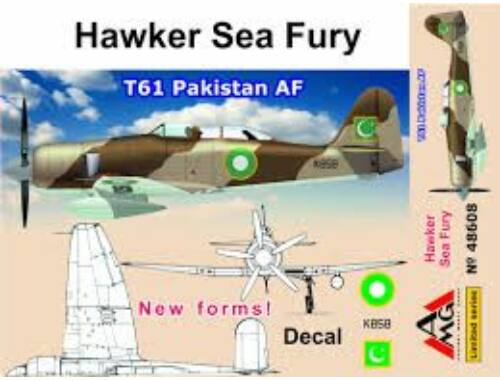 AMG Hawker Sea Fury T61 Pakistan AF 1:48 (48608)