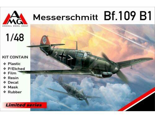 AMG Messerschmitt Bf.109B-1 1:48 (AMG48713)