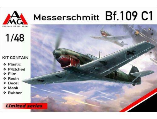 AMG Messerschmitt Bf.109C-1 1:48 (AMG48716)