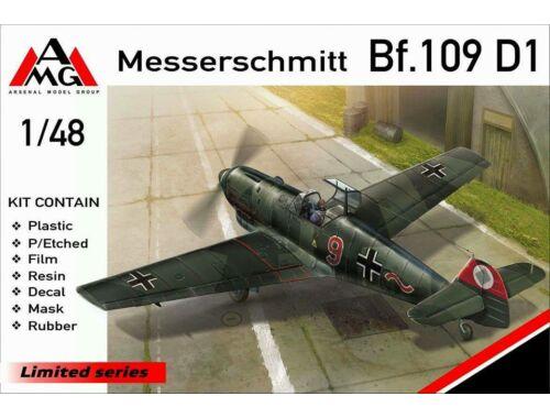 AMG Messerschmitt Bf.109D-1 1:48 (48719)