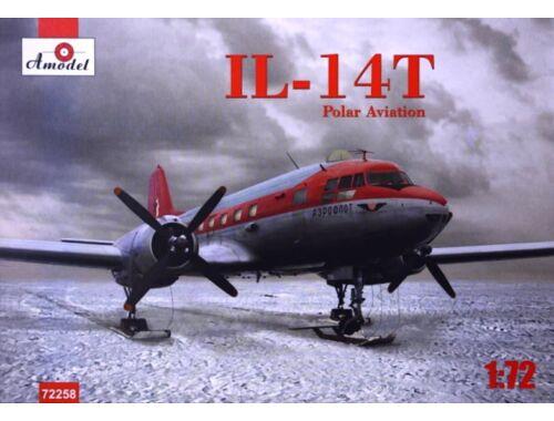 Amodel Ilyushin IL-14T polar aviation 1:72 (72258)