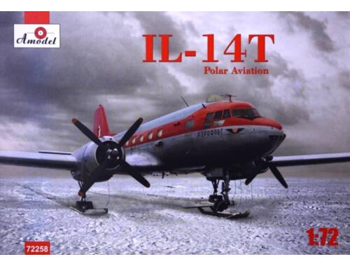 Amodel Ilyushin IL-14T polar aviation 1:72 (72258)