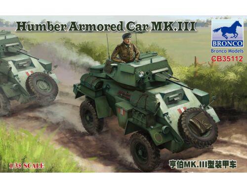 Bronco Humber Armored Car MK.III 1:35 (CB35112)