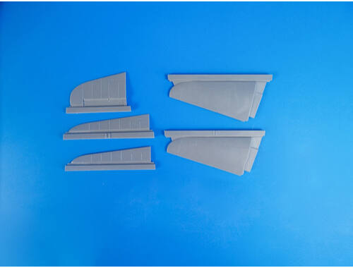 CMK A6M5c Zero – 1/32 Tail Control Surfaces for Hasegawa 1:32 (5115)