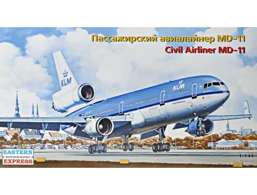 Eastern Express Civil airliner MD-11 KLM 1:144 (144102)