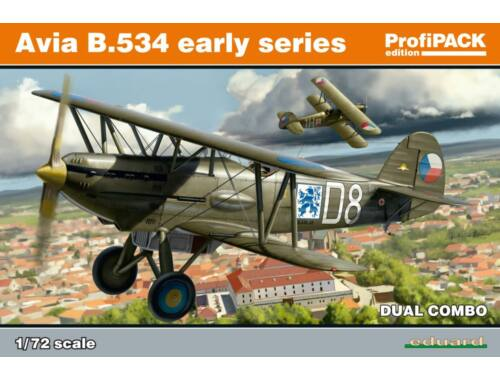 Eduard Avia B-534 early series DUAL COMBO ProfiPACK 1:72 (70103)