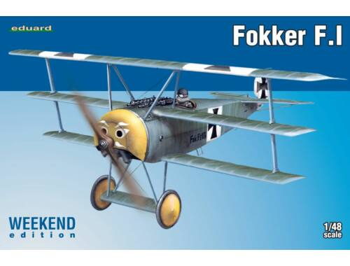 Eduard Fokker F.I WEEKEND edition 1:48 (8493)