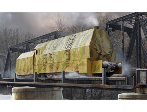 Hobby Boss German Panzerlok BR57 Armoured Locomotiv 1:72 (82922)