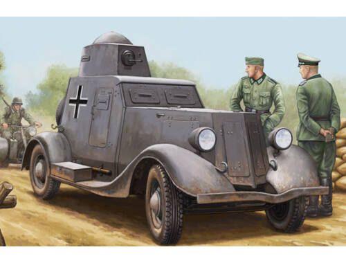 Hobby Boss Soviet BA-20M Armored Car 1:35 (83884)