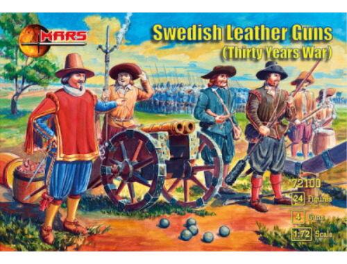 Mars Swedish leather guns,Thirty Years War 1:72 (72100)
