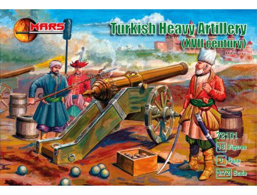 Mars Turkish heavy artillery, XVII century 1:72 (72101)