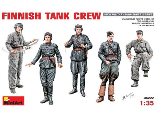 Miniart Finnish Tank Crew 1:35 (35222)
