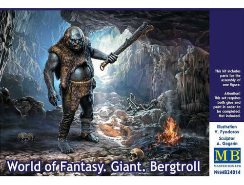 Master Box World of Fantasy. Giant.Bergtroll 1:24 (24014)