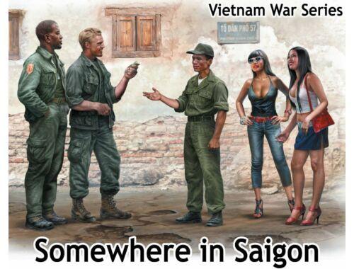 Master Box Somewhere in Saigon,Vietnam War Series 1:35 (35185)