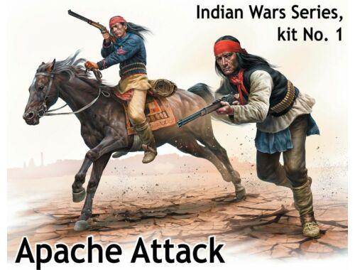 Master Box Apache Attack,Indian Wars Series,kit No1 1:35 (35188)