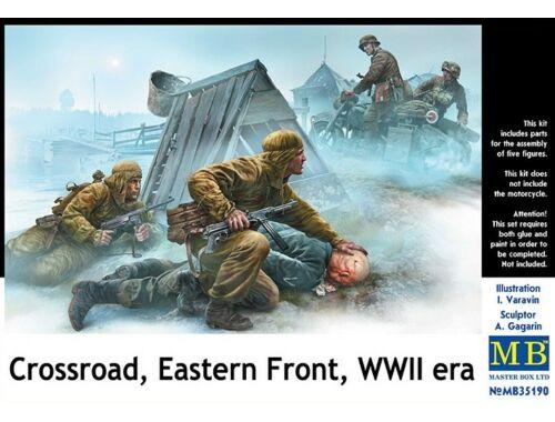 Master Box Crossroad,Eastern Front, WWII era 1:35 (35190)