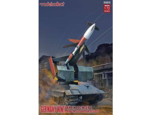 Modelcollect Rheintochter 1 movable Missile launchner w/E50 body 1:72 (UA72031)
