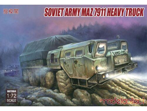 Modelcollect Soviet Army MAZ 7911 Heavy Truck 1:72 (UA72064)
