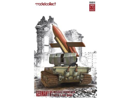 Modelcollect Germany V1 Missile launcher w.E-100 body 1:72 (UA72071)