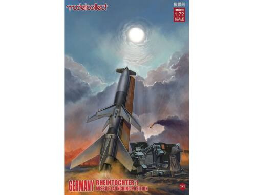 Modelcollect Germany Rheintochter 1 missile launching position 1 1 1:72 (UA72072)