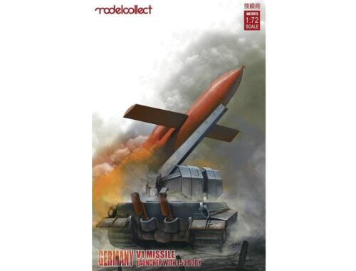 Modelcollect Germany V1 Missile launcher w. E50 body 1:72 (UA72073)