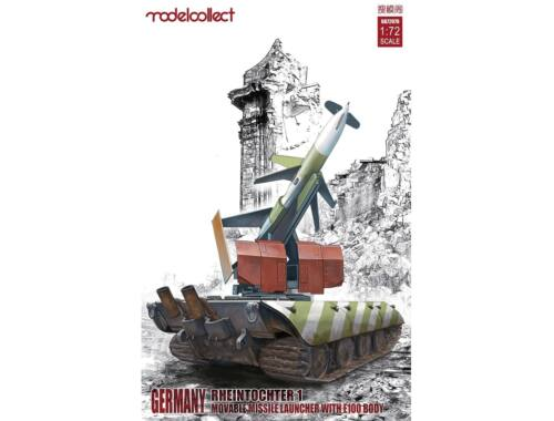 Modelcollect Rheitochter 1 movable Missile launcher with E100 body 1:72 (UA72076)
