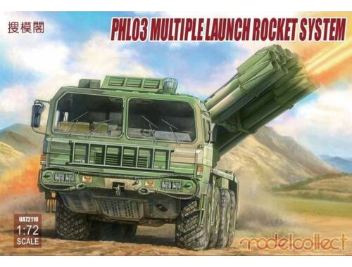 Modelcollect PHL03 Multiple launch rocket system 1:72 (UA72110)