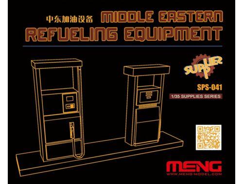 Meng Middle Eastern Refueling Equipment (Resin kit) 1:35 (SPS-041)