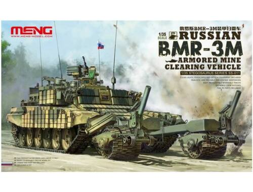 Meng Russian BMR-3M Armored Mine Clearing Vehicle 1:35 (SS-011)