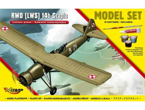 Mirage Hobby RWD (LWS) 14b CZAPLA Model Set 1:72 (872061)