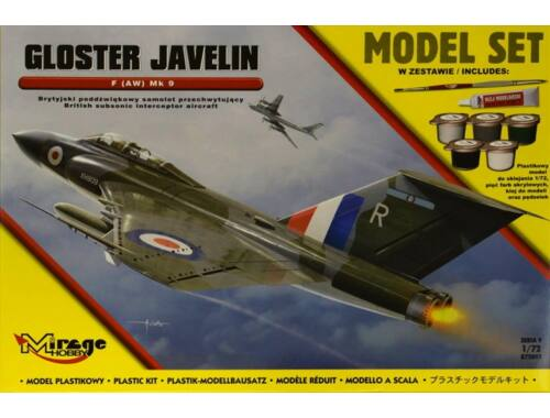 Mirage Hobby Gloster Javelin F (AW) Mk 9 1:72 (872093)