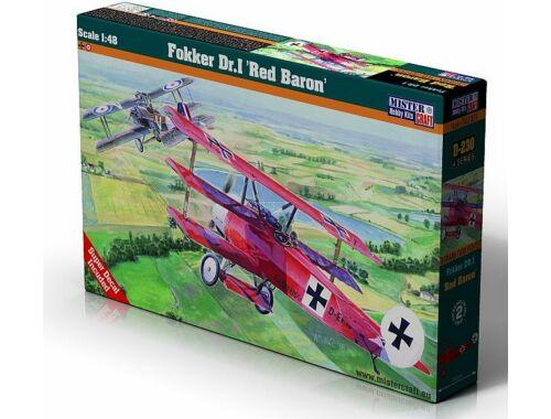 """Mistercraft Fokker Dr.I""""Red Baron"""" NEW 1:48 (D-230)"""