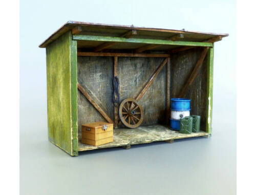 Plus Model Shed 1:48 (4051)