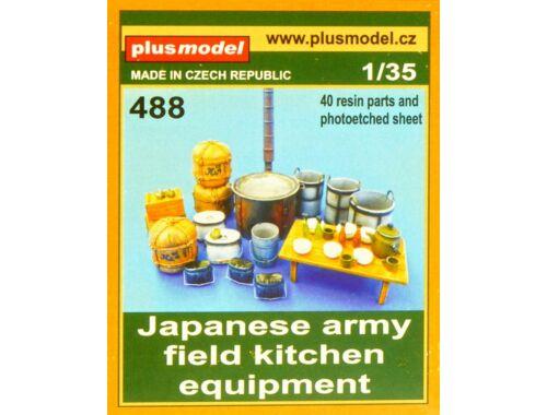 Plus Model Japanese military field kitchen equipmen 1:35 (488)
