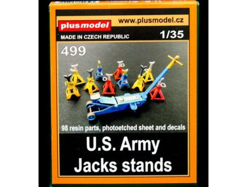 Plus Model US Army jack stand 1:35 (499)
