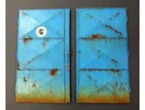 Plus Model Workshop doors 1:35 (503)