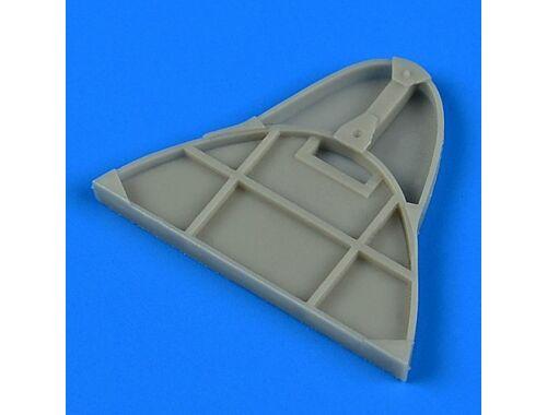 Quickboost Gloster Gladiator bulkhead f.Roden/Eduar 1:48 (48759)